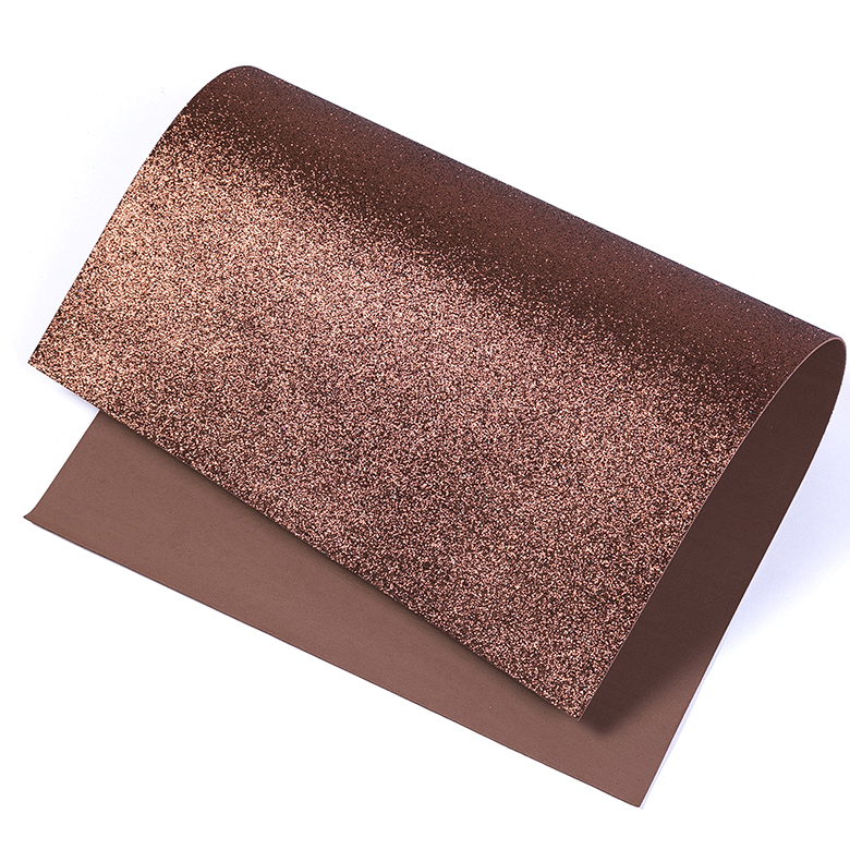 Thick Color craft for Children DIY glitter EVA foam sheet