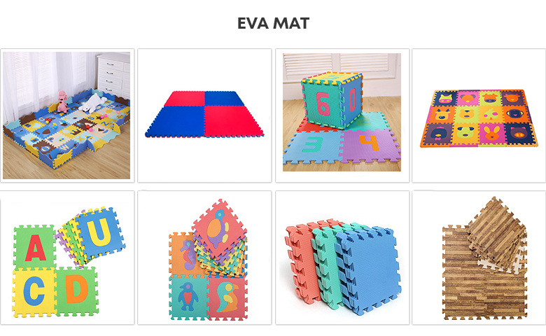 2020 Safe reliable functional animal puzzle interlocking foam mats eva children play mat for kids